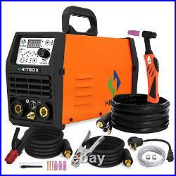 HITBOX TIG Welders 110V/220V 200 Pluse ARC TIG Welding Machine Digtal TIG Torch