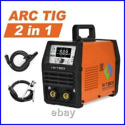 HITBOX TIG Welders Pulse 220V Dual Voltage ARC Stick TIG Welding Machine HOT