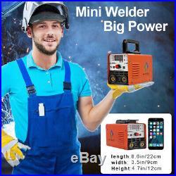 HITBOX Welder 220V Mini LIFT TIG ARC Welder MMA STICK Inverter Welding Machine