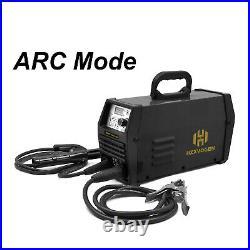 HZXVOGEN 110V/220V 200A TIG Welder Pulse Inverter ARC Stick MMA Welding Machine