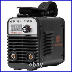 HZXVOGEN HT2000 Welder 110/220V Dual Volt lnverter ARC MMA Stick Welding Machine