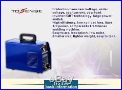 IGBT H. W. Inverter TIG/MMA ARC 2in1 Welding Machine 110/220V WIG Welder MACHINE