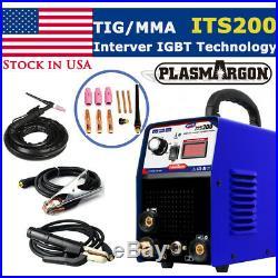 IGBT TIG/MMA/ARC/STICK Welder 2in1 Stainless Welding Machine 110/220V & Kits