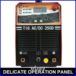 IGBT Welder Maschine AC/DC 250D Schweißgerät TIG MMA ARC 2in1 Inverter Welder