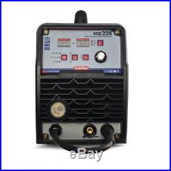 Inverter 200Amp MIG ARC TIG Welder Flux Core Lift TIG Stick MIG Welding Machine
