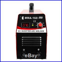 Inverter Welder 110V IGBT Mini Arc Welding Machine MMA160 20-160A American Plug