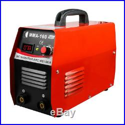 Inverter Welder 110V IGBT Mini Arc Welding Machine MMA160 20-160A Welding Rod
