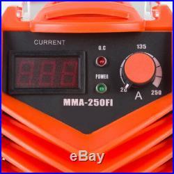 Inverter Welder 250amp MMA 240v DC Welding Machine Stick Mask Brush Portable ARC