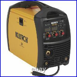Klutch MIG Welder withMulti Processes Inverter MIG Flux-Cored Arc & TIG 120V