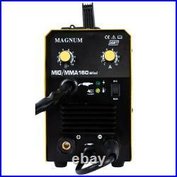 MAGNUM MIG/MAG 160 MINI MMA ARC semi-automatic Welding Machine Welder Inverter