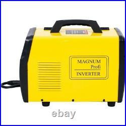 MAGNUM MIG MAG 204 ALU SYNERGY TIG LIFT MMA ARC WELDER IGBT INVERTER 230V 50Hz