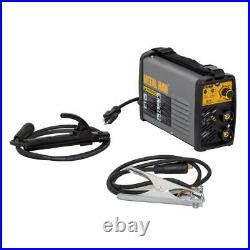 METAL MAN Stick Welder Power Inverter DC Welding 80 Amp DC Output 120 Volt Input