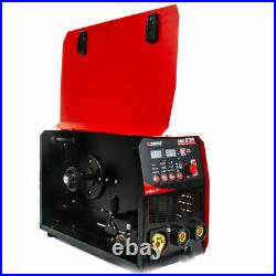 MIG Lift TIG ARC Welder Inverter 235A Gasless Stick Welding Machine 110/220V