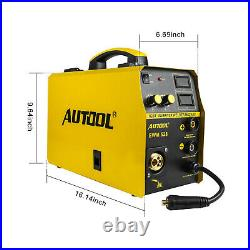MIG/MAG/TIG/MMA Inverter Welder 160A IBGT Stick Arc Welding Machine 110V US Plug
