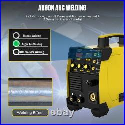 MIG/MAG/TIG/MMA Inverter Welder 160A IBGT Stick Arc Welding Machine 220V