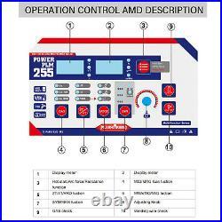MIG Welder 200A Gas/Gasless 110/220V ARC Stick MMA Lift-TIG Inverter 3IN1 Welder