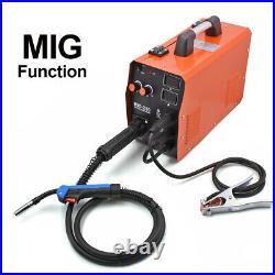 MIG Welder 220V 200A Flux Core Gas Gasless Inverter ARC TIG MIG Welding Machine