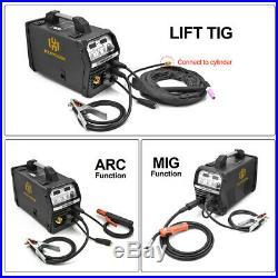 MIG Welder 220V MIG ARC Lift TIG Inverter MIG Welding Machine Flux Cored Wire