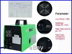 MIG Welder Flux Core Wire AC 120V Gasless Inverter MAG MIG ARC Welding Machine