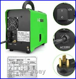 MIG Welder Gas/Gasless IGBT Inverter ARC Stick TIG 5 IN 1 MIG130 Welding Machine