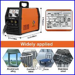 MIG Welder Inverter Gasless 3 in 1 Flux Core Wire ARC TIG MIG Welding Machine