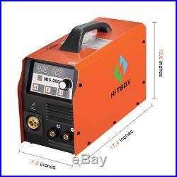 MIG Welder Inverter Mig Welding 200Amp 220V DC MIG MAG ARC LIFT TIG ARC Welder
