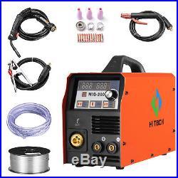 MIG Welder MIG 200AMP 220V DC Inverter MIG MAG ARC LIFT TIG ARC Welding Machine