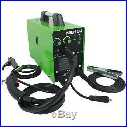 MIG Welder MIG150 DC 220V Flux Core Wire Inverter ARC MIG MAG 2in1 Welder Reboot