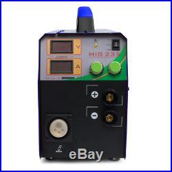 MIG235 Inverter Welder 110/220V MIG MMA TIG Multi-Function Welding Machine ARC