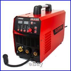 MIG235 MIG TIG ARC Welder Inverter 200A Gas Lift TIG Welding Machine 220V