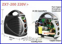 MMA ARC Welding Machine Handheld Mini IGBT Inverter Home Welder 20-200A 220V