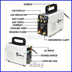 220V MMA Digital Stick Welder 400A ARC DC IGBT Welding Inverter Machine Handheld