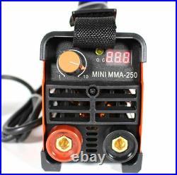 MMA Handheld Mini Electric Welder 220V 20-250A Inverter ARC Welding Machine Tool