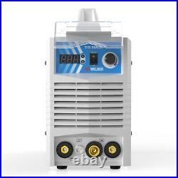 MMA TIG ARC IGBT 205 AMP Welding Machine 110/220V Welder DC Inverter LED Display