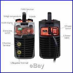 MMA TIG ARC IGBT Welding Machine 200 AMP 110/220V Welder DC Inverter LED Display