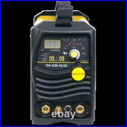 Magnum Tig Thf 220s Ac/dc Igbt Inverter Pulse Welder Mma Arc 2t/4t Hot Force