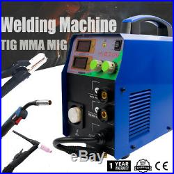Mig 200a Inverter DC Welder 3-in-1 Arc Tig Multifunction Welding Machine 220v