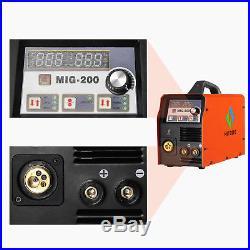 Mig Welding 200Amp 220V DC MIG Welder Inverter MIG MAG ARC LIFT TIG ARC Welder