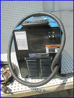 Miller XMT 304 CC/CV DC Inverter Arc / Tig / Mig Welder Tested Cables