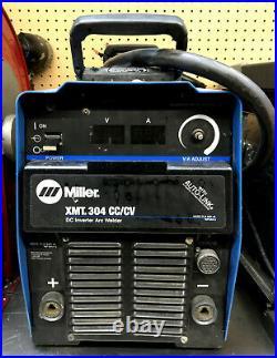 Miller XMT 304 CC/CV DC Inverter Arc Welder withAuto-Link Local Pick Up