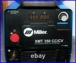 Miller XMT CC/CV DC Inverter Arc Welder with AUTO-LINE. Excellent Condition