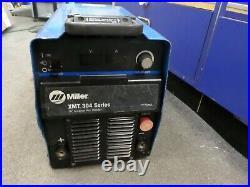 Miller xmt304 cc/cv dc inverter arc welder
