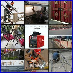 Mini Electric Welding Machine IGBT DC Inverter ARC MMA Stick Welder 110V 20-250A