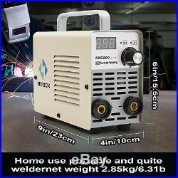 Mini IGBT ARC Welding Machine MMA Electric ARC Welder 110V 220V 200A Inverter