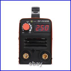 Mini IGBT ARC Welding Machine MMA Electric Welder 110V 20-250A DC Inverter 8PCS
