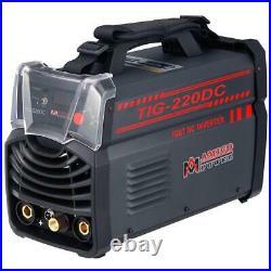 Multi Process Welder 220 Amp TIG Torch Arc Stick DC Inverter Dual 110-V/230-V