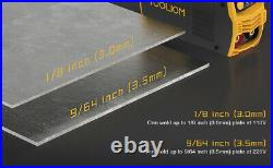 PORTABLE MINI WELDER Stick Welder MMA ARC DC Inverter Digital COMPLETE READY KIT