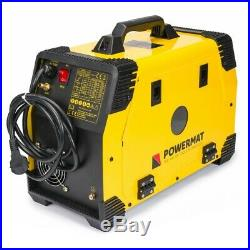 POWERMAT 220A PM-IMG-220L-PRO MIG MAG FCAW TIG Lift MMA ARC welder inverter