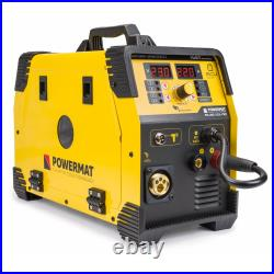 POWERMAT 220A PM-IMG-220L-PRO MIG MAG FCAW TIG Lift MMA ARC welder inverter weld