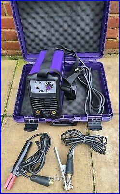 Parweld XTi 16O 160Amp Portable ARC Welder With Case And Leads
